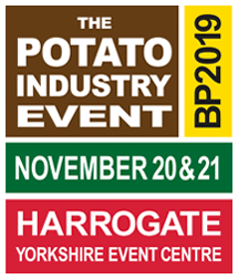BP2019 Visitor Website for The British Potato Industry Event Exhibition at the Yorkshire Event Centre Harrogate - November 20th - 21st 2019